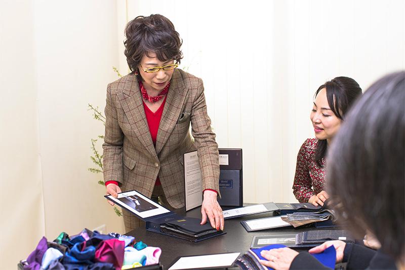 イメージコンサルタント資格取得の為のプロ養成実践講座の内容